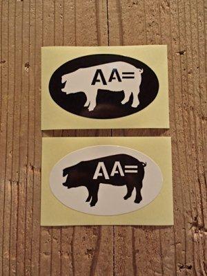 画像1: AA= PIG STICKER SET