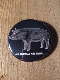AA= PIG BADGE(57mm)-BK-