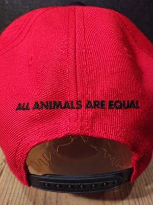 画像5: AA=  PIG SNAPBACK CAP (RD)