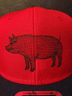 画像4: AA=  PIG SNAPBACK CAP (RD)