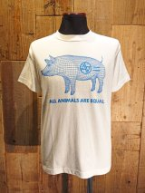 AA= PIG WIRE FRAME TEE (WH)